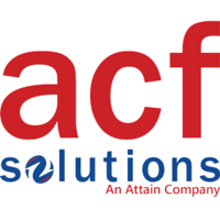 ACF Solutions, an Attain Company logo