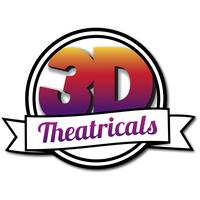 3-D Theatricals logo