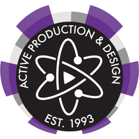 Active Production and Design logo
