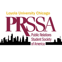 Loyola University Chicago PRSSA logo
