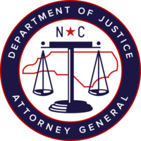 NC Department of Justice logo