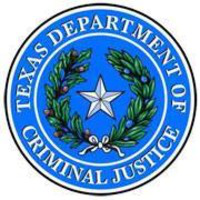 Texas Department of Criminal Justice logo