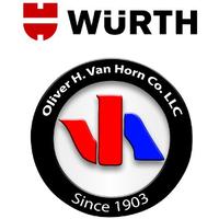 Würth Oliver H. Van Horn Co. logo