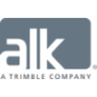 ALK, a Trimble Company logo