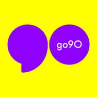 go90 (Formerly OnCue, acquired by Verizon Media) logo