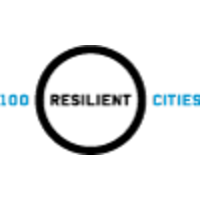 100 Resilient Cities - Pioneered by the Rockefeller Foundation logo