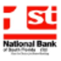 1st National Bank of South Florida logo