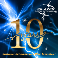 Blazer Electric Supply Company logo