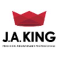 J A King logo