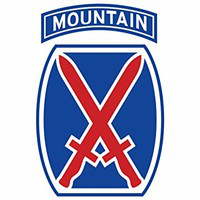 10th Mountain Division, United States Army logo