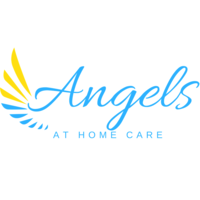 Angels At Home Care  logo