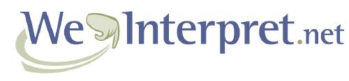WeInterpret.net logo