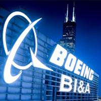 Boeing Intelligence & Analytics logo